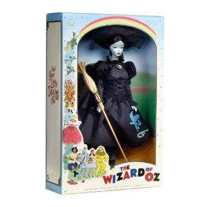 Barbie Collector Pink Label Wizard of oz Wicked Witch of The West Doll