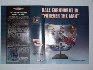 2004 Dale Earnhardt Replica Car Hood Print Advertisement Page