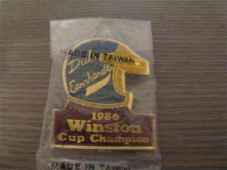 Vintage Dale Earnhardt 1986 Winston Cup Champion Nascar Racing