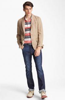 Billy Reid Blazer, Polo & Slim Fit Jeans