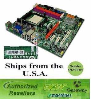 Acer ET1161 ET1300 ET1331G MCP61PM GM AM2 Desktop Motherboard (6470)