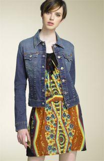 True Religion Brand Jeans Emily Stretch Denim Jacket