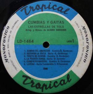 Las Estrellas de Tolu Cumbias Y Gaitas Colombia LP ♫♫