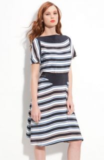 MARC BY MARC JACOBS Jacobson Stripe Silk Dress