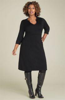 Semantiks Y Neck Sweater Dress (Plus)