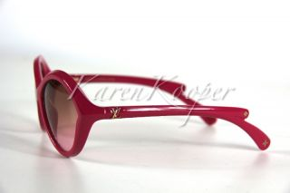 Louis Vuitton Daisy Lowe Flore Sunglasses New w Case