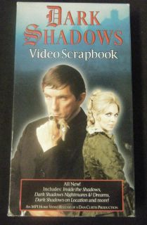 Dark Shadows Video Scrapbooks VHS Jonathan Frid Joan Bennett David