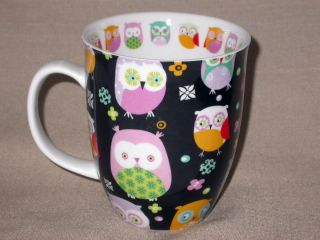 OWLS by Creative Tops Ltd Large Ceramic Coffee Mug Cup FREE Ship