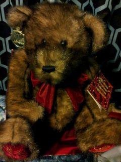 DAN DEE MISSOURI 100TH ANNIV HAPPY HOLIDAYS TEDDY BEAR PLUSH STUFFED