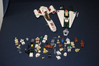 Star Wars Lego Huge Lot Mini Figures Ships More