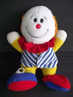 Dakin Plush 12 Happy Sad Clown Stuffed Doll Animal Toy