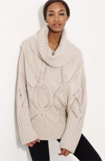Donna Karan Collection Cable Knit Cashmere Sweater