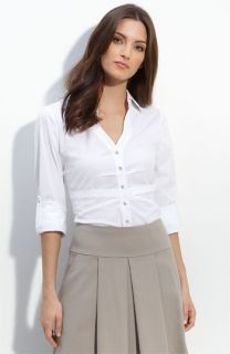 Elie Tahari Shellie V Neck Shirt