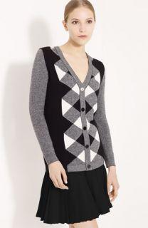 Valentino Argyle Wool & Cashmere Cardigan