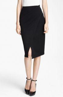 Donna Karan Collection Jersey Scissor Skirt