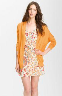 Haute Hippie Oversized Silk & Cashmere Cardigan
