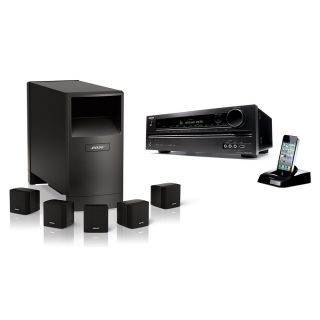 New Bose Home Theater System Acoustimass Series III 6 Speakers Onkyo