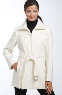Calvin Klein Zip Front Melton Jacket