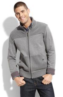 Ted Baker London Fleece Lined Sweater Jacket