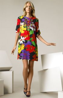 See by Chloé Daisy Print Dress with Rosette Detail