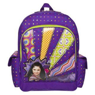 Wizard of Waverly Place Purple Alex Russo Selena Gomez Backpack Tote