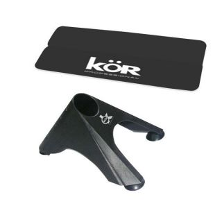 Kor Hair Straightener Flat Iron Carrying Case Mat Curling Iron Holder