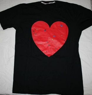 Damien Hirst All You Need Is Love Red Heart  2008 Silkscreen T Shirt