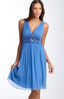 Maggy London Beaded Waist Dress (Plus)
