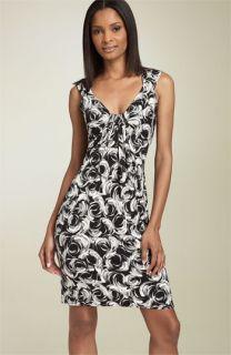 Maggy London Drape Jersey Dress