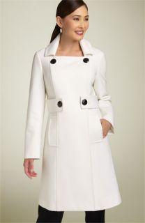 Adrienne Vittadini Double Breasted Coat