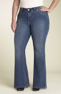 Jag Jeans Kate Curvy Fit Bootcut Stretch Jeans (Plus)