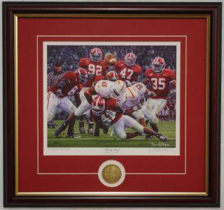 Alabama Football Rocky Stop Signed Daniel Moore