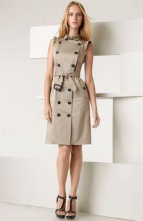Burberry London Lightweight Stretch Sateen Dress