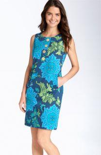 Taylor Dresses Printed Sleeveless Shift Dress