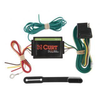 curt trailer hitch wiring tail light converter 55130