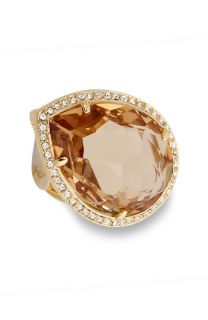 Crystal Collection Oversized Teardrop Crystal Ring