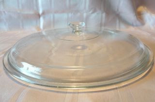 Replacement Casserole Lid 12 25 Clear Glass Crock Pot Slow Cooker VERY