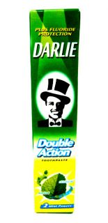 DARLIE DOUBLE ACTION TOOTHPASTE PLUS FLUORIDE 2 MINT POWERS TRAVEL
