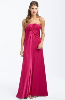 JS Boutique Twist Front Matte Jersey Dress