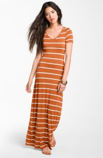 Soprano Stripe Maxi Dress (Juniors)