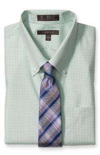 Smartcare™ Trim Fit Dress Shirt & Burberry Tie