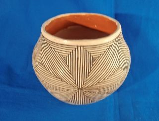 Santana Antonio Acoma Pueblo Native American Indian Pottery Vintage