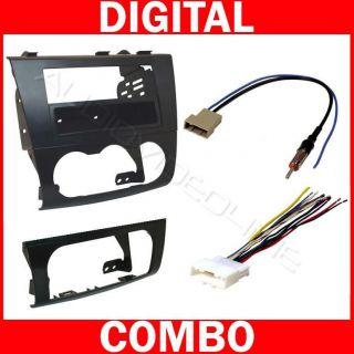 Radio Car Stereo Install Dash Mount Kit Wire Harness Plug 12