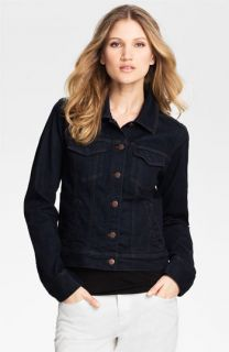 Eileen Fisher Organic Cotton Blend Denim Jacket