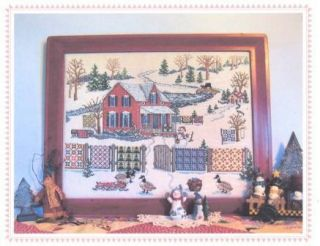 Snowy River Quilts Counted Cross Stitch Pattern Linda Myers Designs