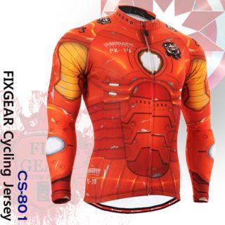 FIXGEAR Cycling Jersey Custom Road Bike Clothes CS 801