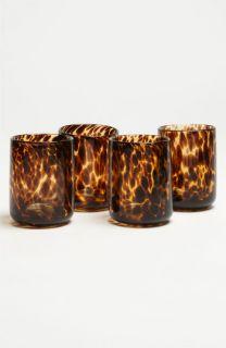 Tortoiseshell Rocks Glasses (Set of 4)