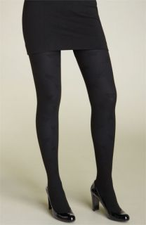 Betsey Johnson Layer It   Heart Tights (2 Pack)