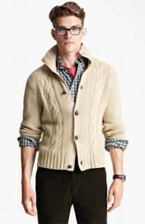 Jack Spade McGrady Lambswool Cable Knit Sweater