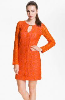 Trina Turk Crandon Keyhole Detail Lace Shift Dress